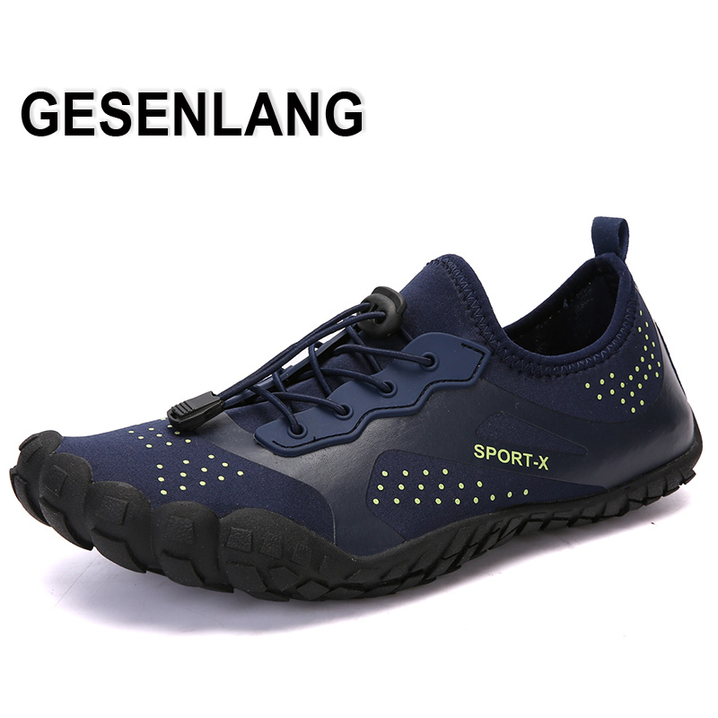 Men's Five Fingers Sneakers Running Shoes Unisex Quick Drying Breathable Outdoor Beach Walking Trainers Barefoot Sport Shoes New