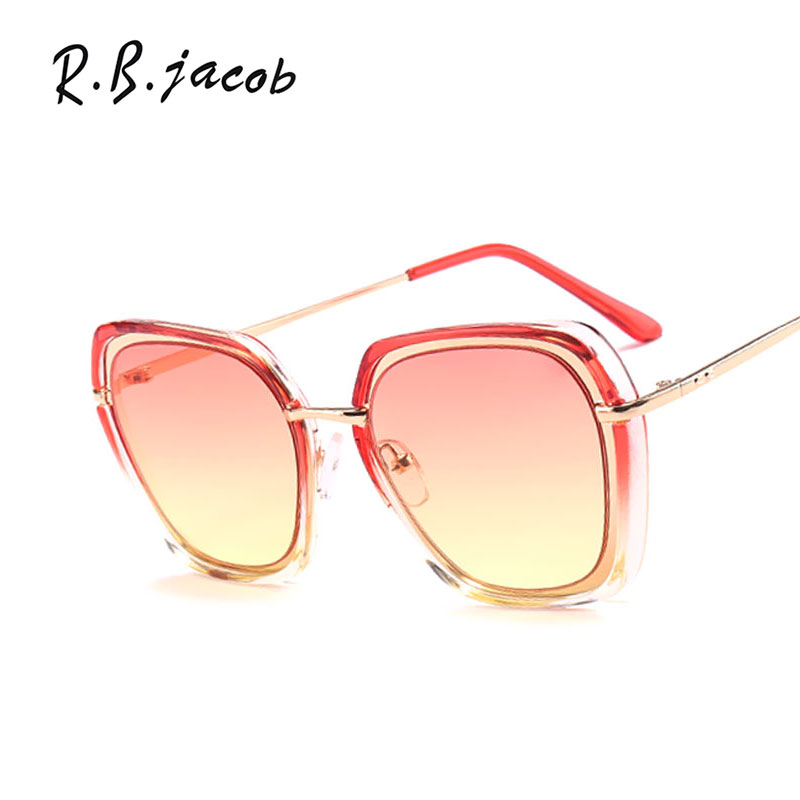 2017 New Irregular Colorful Sunglasses Women High Quality Brand Designer Charm Lady Sun Glasses UV400 Vintage Accessory Hipster