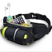 חיצוני ריצת מותן תיק עמיד למים טלפון תיק עם מים מחזיק מחזיק ריצה חגורת תיק נשים תיק חדר כושר כושר ספורט YUYU