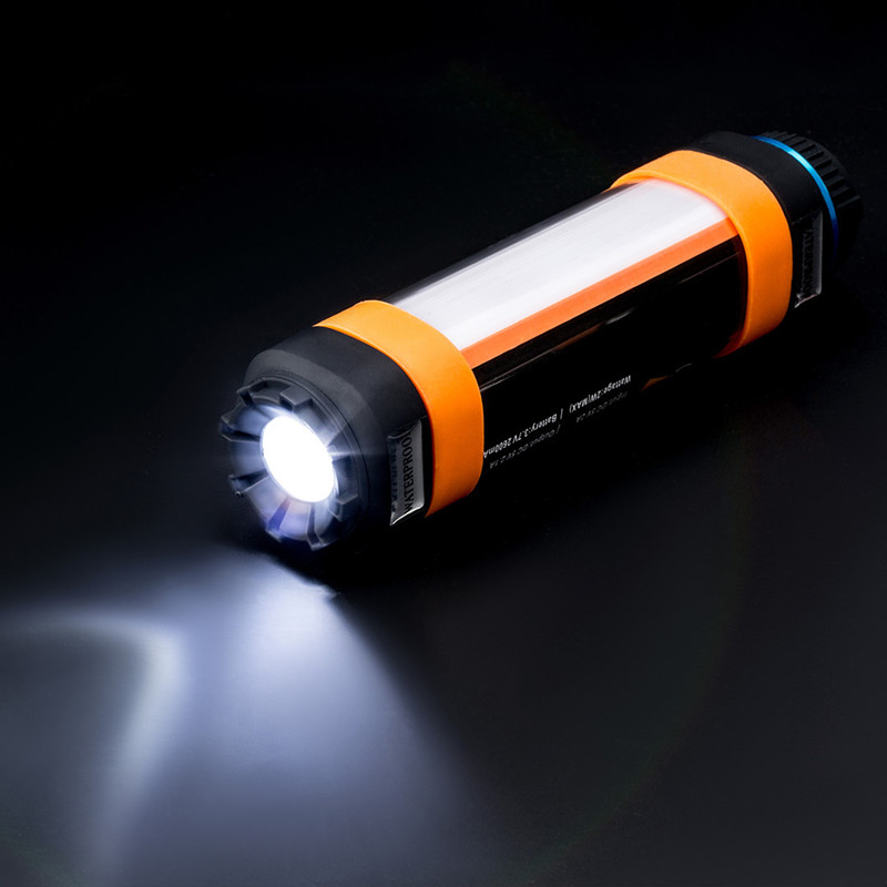 USB Waterproof Led Camping light Rechargeable Magnetic Hiking Tent Walking Working Fishing SOS Flashlight