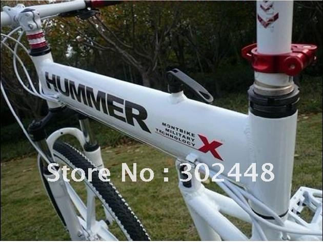 "Wholesale New Design! cheap Latest Cool Hummer 26"" Aluminium Alloy Foldable Mountain Bike at 24 Speed"