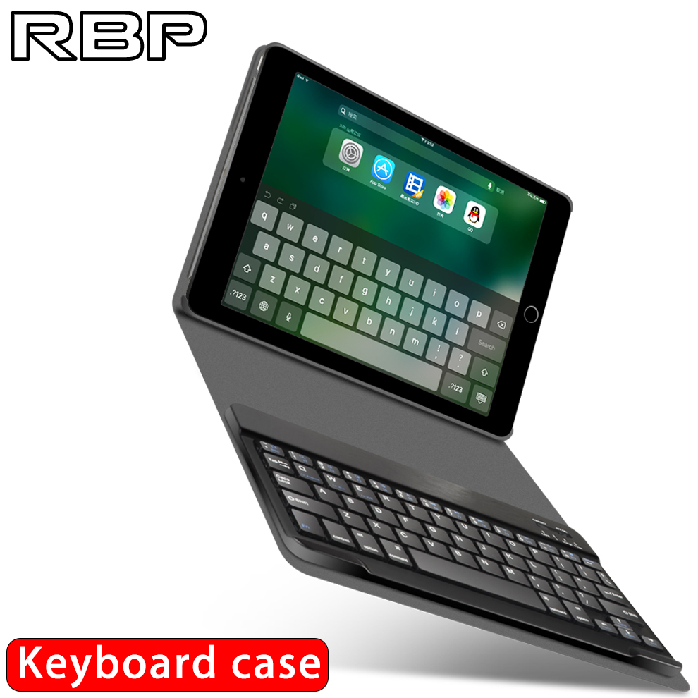 rbp for apple ipad 2017 case keyboard case 9 7 inch for ipad air 1 2 cover wireless bluetooth. Black Bedroom Furniture Sets. Home Design Ideas