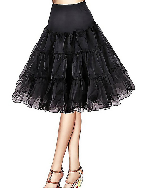 Vintage Krótka Sukienka Wesele Retro Huśtawka Spódnica Tutu 50 S