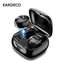 цена на EARDECO TWS True Wireless Earbuds Bluetooth Earphone Stereo Earpiece Earbud Sport In Ear Headset With Mic Charging Box For Phone
