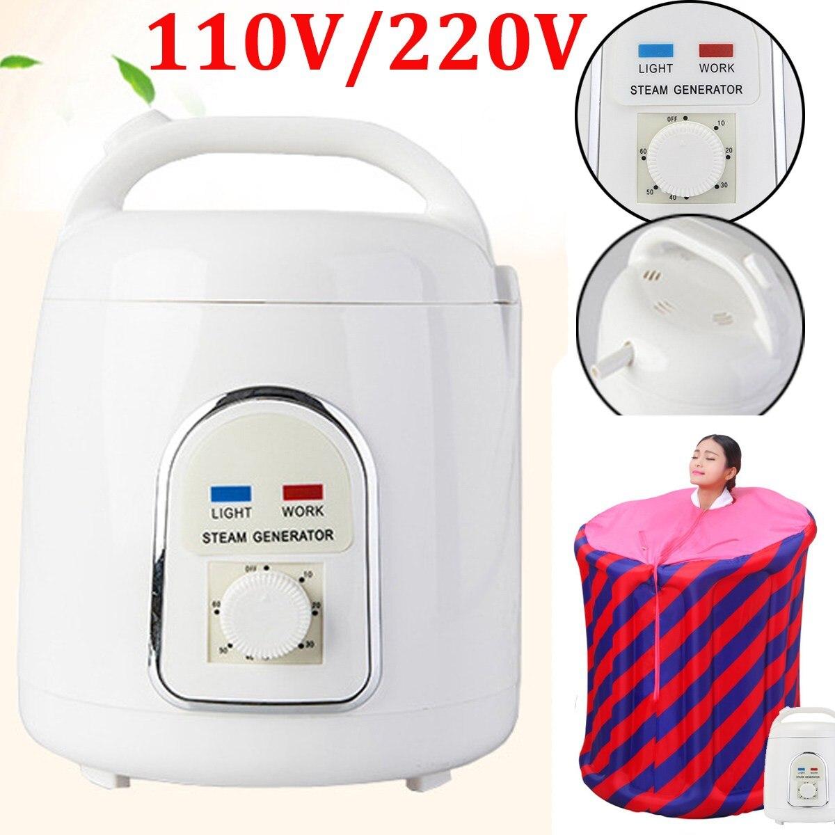 Домашний парогенератор емкость 1.8л паровой горшок спа для портативной паровой сауны спа расслабляет усталость|pot|pot steamer  | АлиЭкспресс