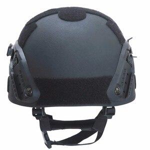 Image 5 - Paintball airsoft balístico capacetes de proteção mich 2000 nij iiia aramid cabeça à prova de balas capacete proteção para a caça airsoft