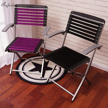 SUFEILE Outdoor folding chair Outdoor fishing Beach chair Casual folding computer chair office Breathable chair D20