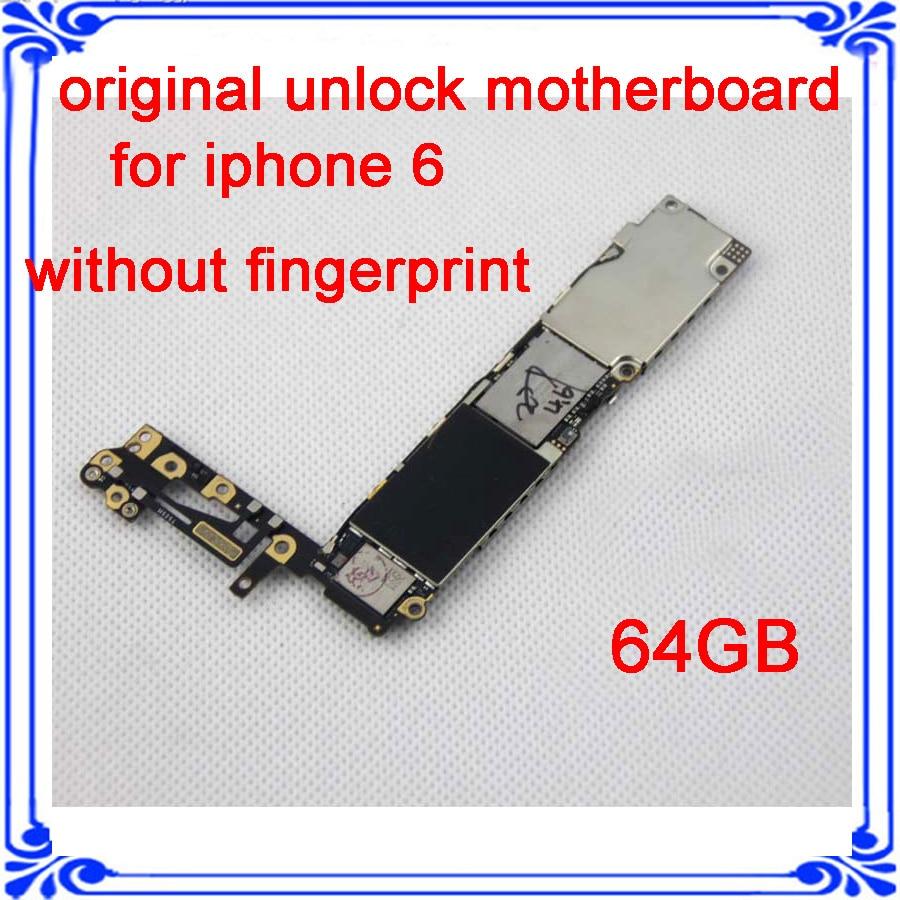 64GB 100% original main board for iphone 6 4.7inch