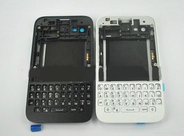 Atacado-corpo habitação substituição completa para blackberry q5 celular case capa faceplate frete grátis via hong kong post correio