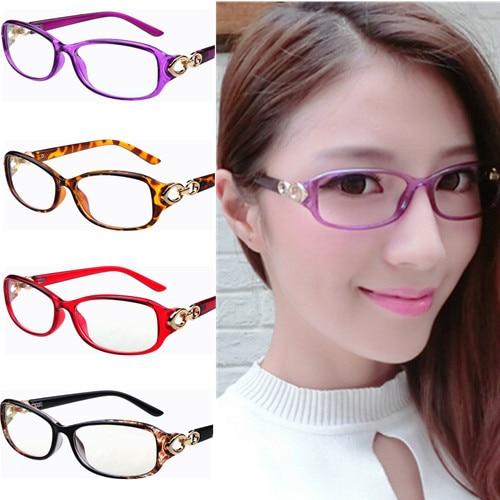 new oval rectangle light weight women stylish flower eyeglasses frame moderen spectacles metal decoration frames lady - Women Eyeglass Frames
