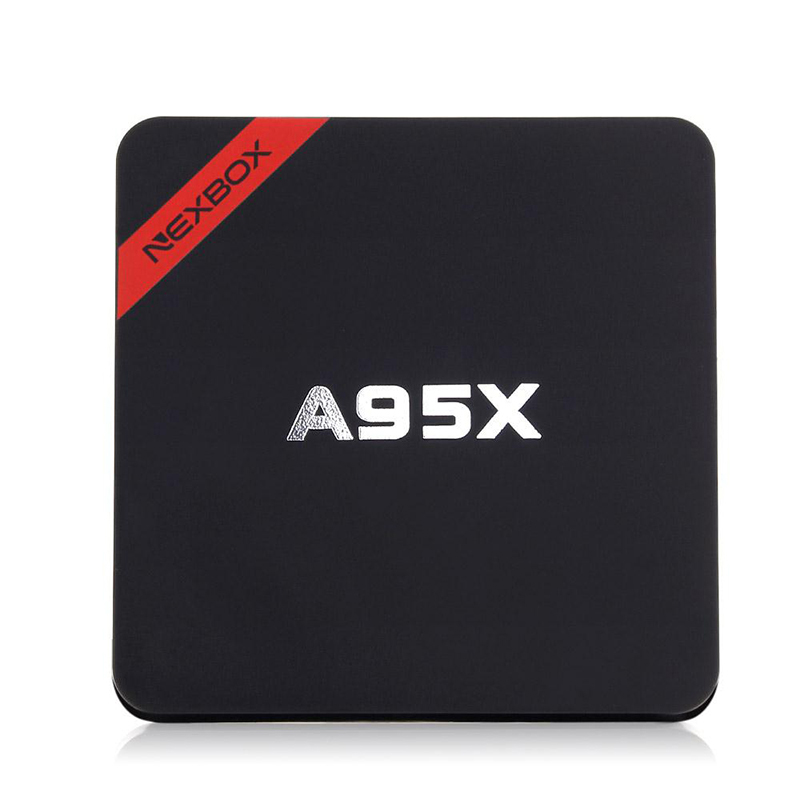 все цены на NEXBOX A95X Android 7.1 TV Box Amlogic S905X Quad Core 2GB RAM 16GB ROM HD 4K H.265 2.4GHz WiFi Box Smart TV Box