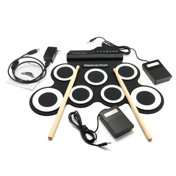 Inno DP-818A Portable Roll Up Electronic Drum with Drum Sticks and Pedal багажники inno