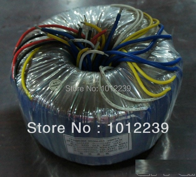 все цены на High quality1000VA Toroid Transformer Input:0-115-230V output :0-28*2(17A),0-48*2,0-12*2 онлайн