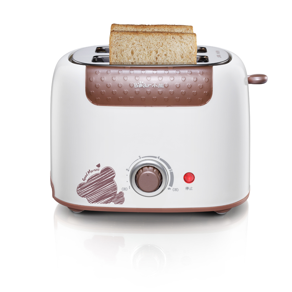 Bear 220V 6 professional temperature control card protection dust cover design Electric Toasters Breakfast Maker Full-automatic