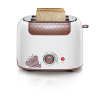 Bear 220V 6 professional temperature control card protection dust cover design Electric Toasters Breakfast Maker Full automatic
