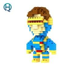 Mini Nano Blocks Super Heroes LOZ Building Blocks Cyclops Figures Diamond Blocks Compatible Legoelieds Toys 9134