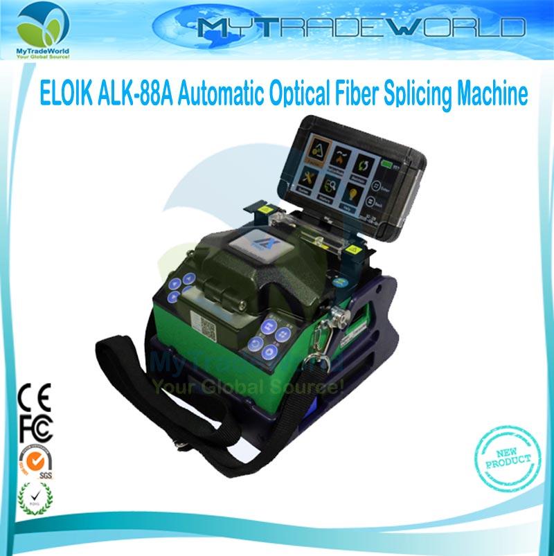 imágenes para Eloik ALK-88A Fibra Óptica de Empalme Machine Maquina de Fusao de fibra Fibra Fusionadora ARCO Máquina De Soldadura Libre de DHL Libre