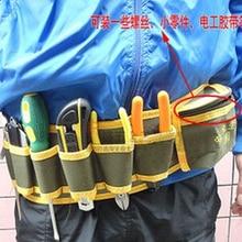 Hardware del mecánico herramientas bolsa electricista lienzo correa Utility Kit de bolsillo organizador de la bolsa envío gratis