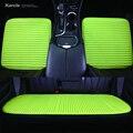 Karcle 1 UNIDS Universal Fundas de los Asientos de Coche de Alforfón Natural-cubre Amortiguador Del Coche Sano 4 Estaciones Del Coche Del Amortiguador Anti-antideslizante Car-styling