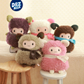 Colored Plush Toys Creative Small Sheep kawaii plush Alpacas hand warmer soft stuffed toys