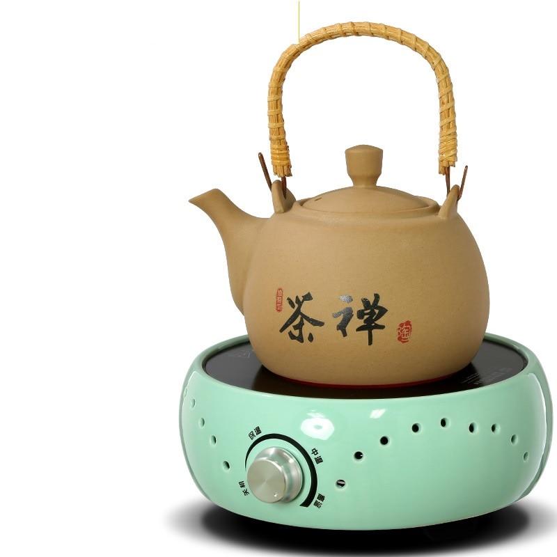 AC220 240V 50 60 Гц Мини электрическая керамическая плита кипячение чая нагревание кофе 800 Вт электрическая плита кофе нагреватель без горшка - 5