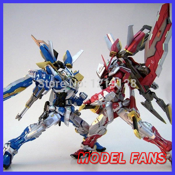 MODEL FANS FREE SHIPPING  GUNDAM cool model DABAN 6601 ASTRAY RED FRAME  and  DABAN 6605 ASTRAY BLUE FRAME MG 1:100 model fans m3 model pg 1 60 red heresy gundam special large sword backpack gift water paste free shipping