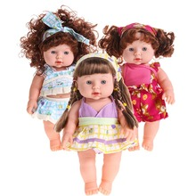 Reborn для маленьких девочек куклы Мягкие винилсиликоновых реалистичные для новорожденных Говоря Игрушка для Обувь для девочек детские Новогодние товары Игрушечные лошадки подарок позвонить маме и Папа