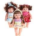 Reborn baby doll realistas de silicona de vinilo suave recién nacido bebé hablando juguete para niñas christmas baby toys regalo de llamar a mamá y papá