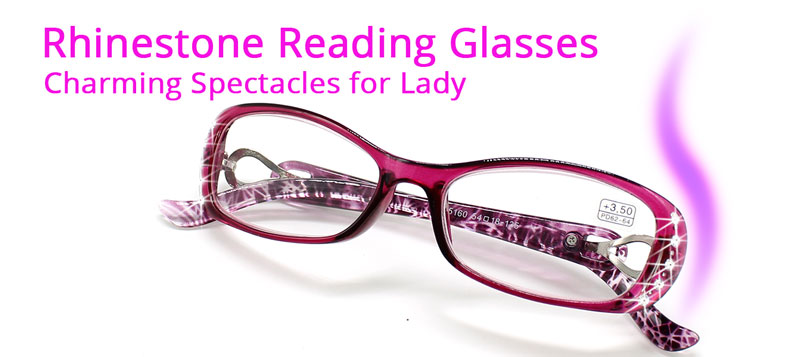 75d1fecfc2 US $55.9 50% OFF|Rhinestone Reading Glasses Women Gafas de Lectura Luxury  Fashion Spectacle+100 125 150 175 200 225 250 275 300 350 400 10pcs/lot-in  ...