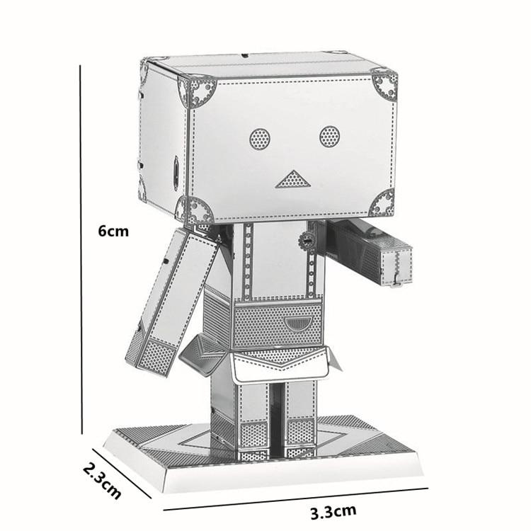Картон Люди Металл 3D головоломка - Игры и головоломки