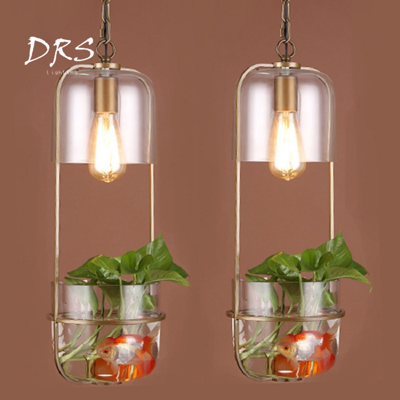 Modern Minimalist Pendant Lamp Restaurant Fish Tank Chandelier Lights  Study Coffee Shop Bedside Glass Plant Hang LightingModern Minimalist Pendant Lamp Restaurant Fish Tank Chandelier Lights  Study Coffee Shop Bedside Glass Plant Hang Lighting