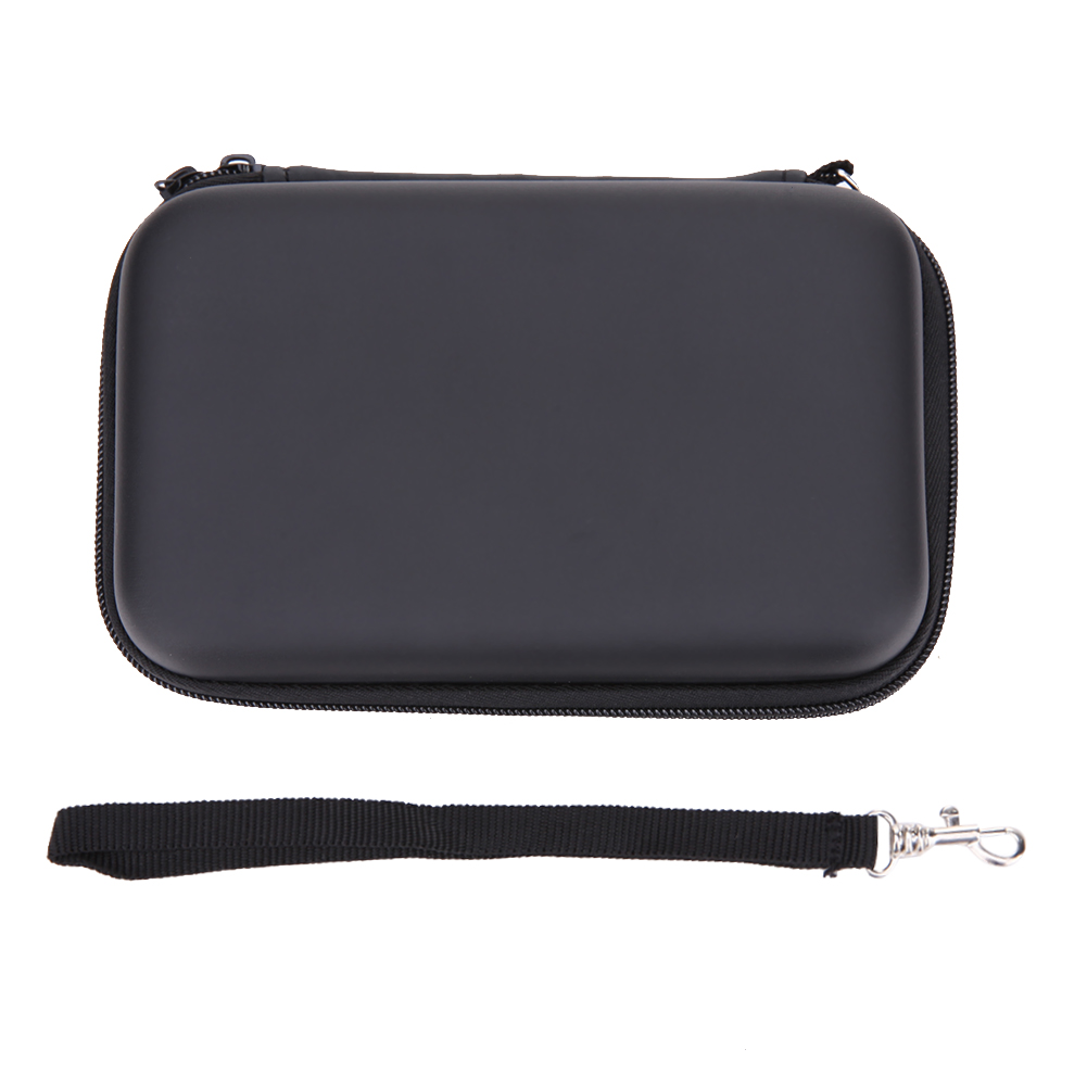 Zipper Hard Travel Carry Case Cover Bag Pouch Sleeve Compatible for Nintendo 3DS NEW 3DS NDSI NDSL Video Game Console