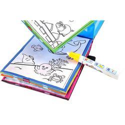 New magic kids water drawing book 1 magic pen children intimate coloring book water animals painting.jpg 250x250