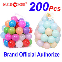 200 pcs Colorful Water Pool Children Toys Tent Ocean Wave Balls Outdoor Play Plastic Ball Kid Funny Bath Toy Swim Pit Sport Ball