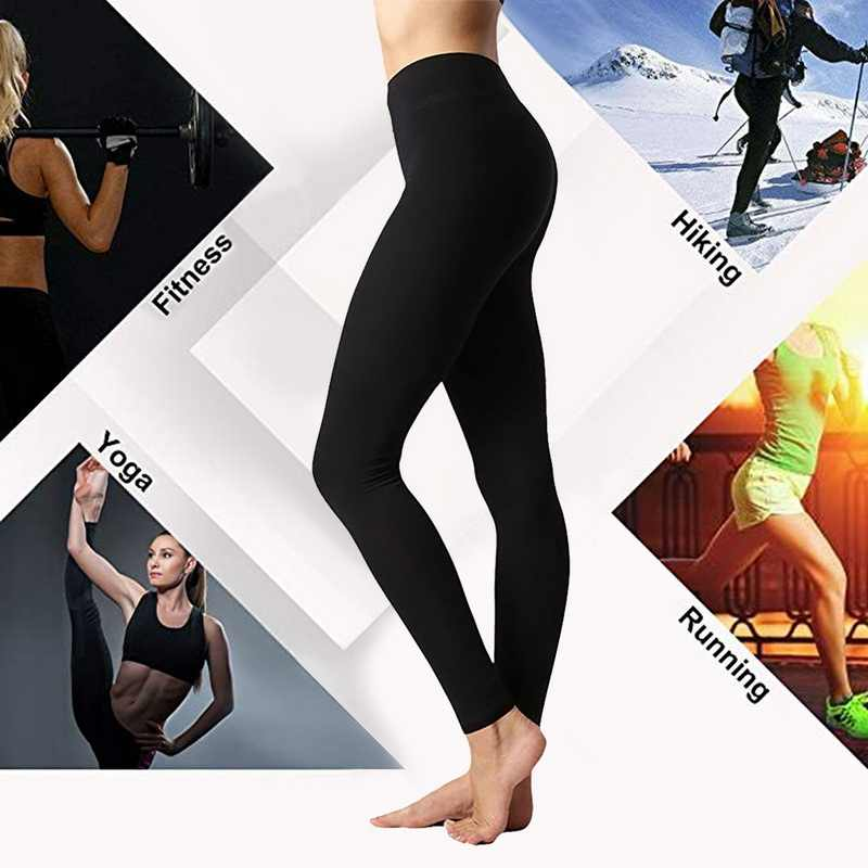 Yoga Leggings Compression Control Yoga Hosen Hohe Taille Workout Fitness Hose Dünne Sameless Gym Sportwear Plus Größe 3XL