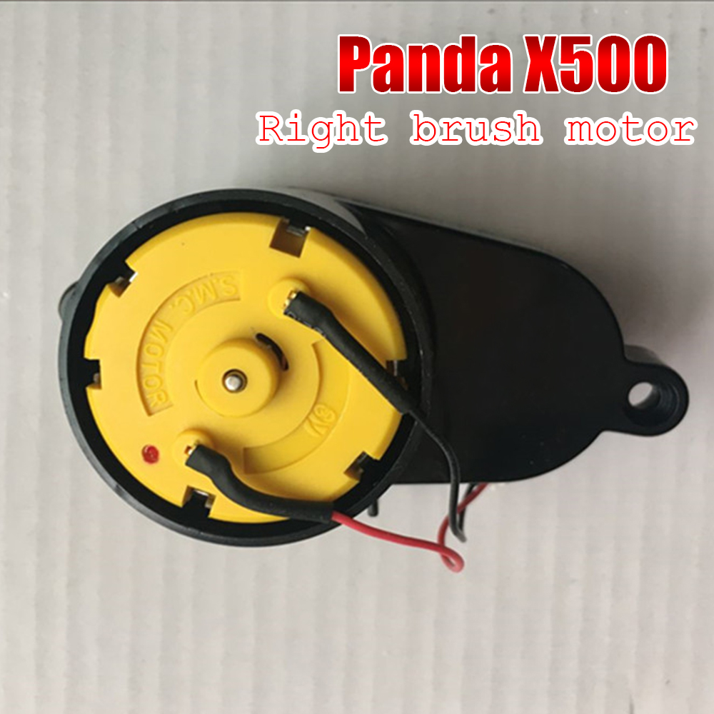 NEW Original robot cleaner Repair part accessories Right Side Brush Motors Assembly for PANDA X500 X850 Ecovacs CR120 CEN540 side brush motors assembly for panda x500 vacuum cleaning robot including left motor assembly x1pc right motor assembly x1pc