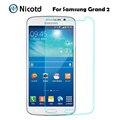 Anti-choque de vidro temperado película para samsung galaxy grand 2 duos g7102 g7105 g7106 g7108 g7109 g7108v protetor de tela em grand2