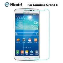 Chống Sốc Tempered Glass Phim Cho Samsung Galaxy Grand 2 Duos G7102 G7105 G7106 G7108 G7109 G7108V Bảo Vệ Màn Hình trên Grand2