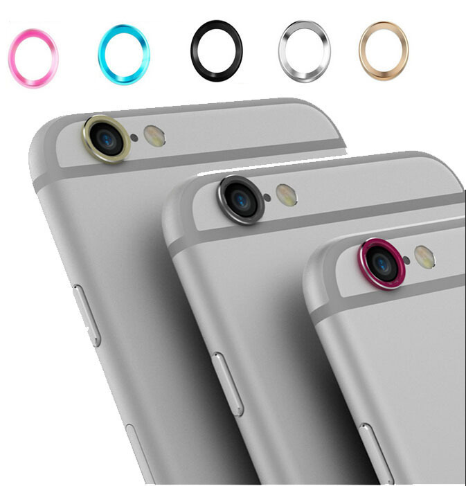 size 40 79f42 ad717 US $1.39 |Rear Camera Lens Aluminum Protective Ring Guard Circle Protector  Cover Case For iPhone6 6 Plus 5.5 Camera Lens Protector Case on ...