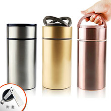 Free Custom 2019 New HOT SALE Outdoor Portable Stainless Steel Insulated Lunch Box Vacuum Flasks Gift Cup Pot take-out