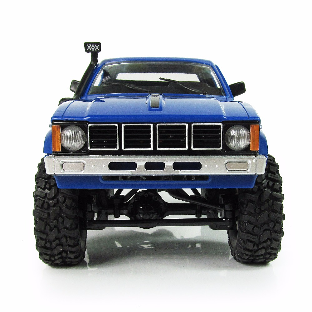 RBR/C <font><b>WPL</b></font> <font><b>C24</b></font> pickup Cherokee cross-country climbing 1/16 large displacement 2.4 g RTR gift 4 wd modification upgrade RC remote image
