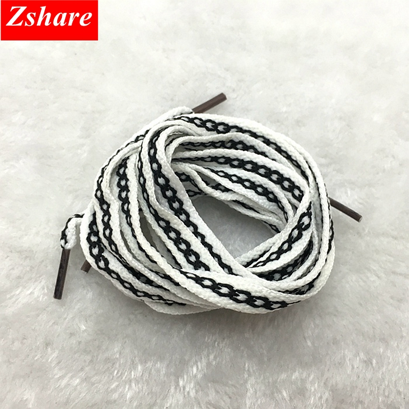 1Pair Fashion Flat Shoelaces Pattern Color Matching Shoelace For Children And Adults Casual Shoe Laces Length 80/100/120cm HW-1