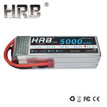 HRB RC Lipo Batterie 6 S 22,2 V 5000 mAh 50C Max 100C Li-polymer Bateria Für RC Auto Hubschrauber Flugzeug Quadcopter Drone TREX 700
