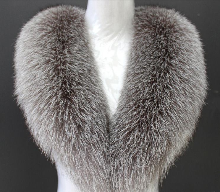 The new 2015 autumn and winter clothes woman luxury fox fur collar big scarf shawl collar