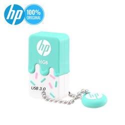 Hp USB флеш-накопитель 16 ГБ 32 ГБ 64 г Cle USB 3,0X778 Вт силиконовый флеш-накопитель крошечная Флэшка U диск на ключе DJ usb-флеш-накопитель
