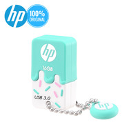 Hp usb 플래시 드라이브 16 기가 바이트 32 기가 바이트 64g cle usb 3.0x778 w 실리콘 메모리 스틱 펜 드라이브 작은 pendrive u 디스크 키 dj 엄지 드라이버