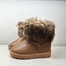 Kid Shoes Children Boots Winter boys shoes Plush Boots Kids Child Snow Boots Fashion Casual Sneaker Bottine Fille