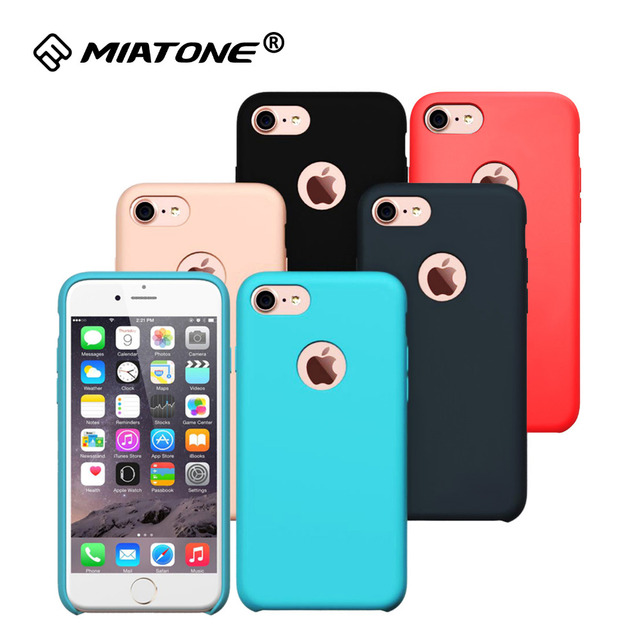 Slim ShockProof Scratch Resistant Phone Case for Apple Iphone 7 / Iphone 7 Pus Premium Soft Silicone Protective Cases Cover