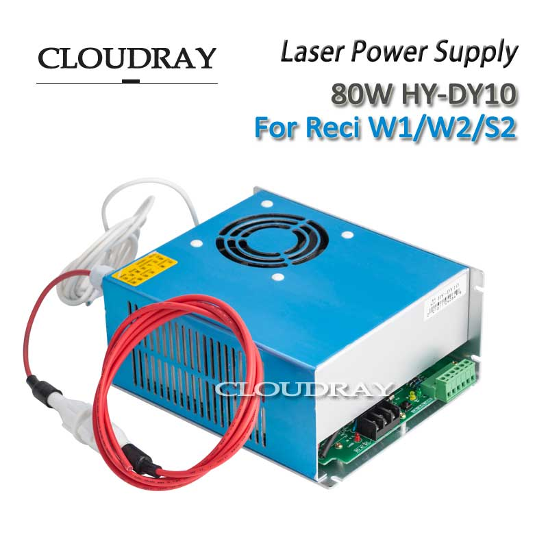 Cloudray CO2 Laser Power Supply DY10 For RECI W2/Z2/S2 Co2 Laser Tube Engraving Cutting Machine AC110V  AC220V laser power box 80 co2 laser power box 80w gernally laser power box 80w use for co2 laser tube 80w
