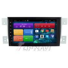 Quad core android 4.4 auto stereo für suzuki grand vitara mit spiegel link 16 gb flash gps kostenlose karte wifi bluetooth